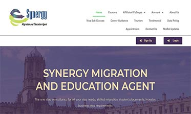 Synergy Migration and Education Agent